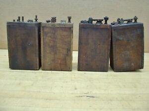 Vintage Ford Model T A Antique Car Engine Ignition Coils Buzz Box Hit Miss Gas L