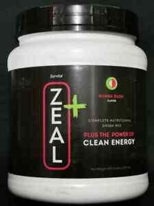 ZURVITA ZEAL PLUS -CLEAN ENERGY -RUMBA RUSH FLAVOR -450g (SHIP FAST)