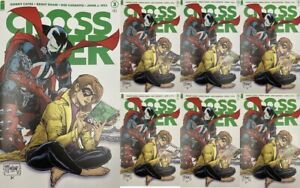 CROSSOVER #3 SECRET VARIANT COVER SET of 8 1:25 TODD MCFARLANE CATES IMAGE COMIC