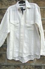 XXL BNWT men cheese cloth,CASUAL shirt long sleeve,BEACH,SAILING