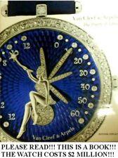 Million Dollar Watches Van Cleef & Arpels French Designer Gemstone Diamond HUGE