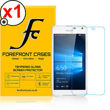Forefront Cases® HD Tempered Glass Screen Protector Shield for Nokia Lumia 650