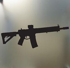 M-16  AR15 M16 AR-15 Sticker Funny JDM Drift car window tactical gear glock