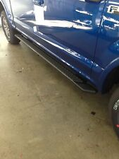 """2015-2017 F150 5"""" wide Crew Cab OEM gray running boards step bars side steps"""