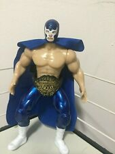 Blue Demon Wrestler 7in Action Figure Mexican Toys LUCHA LIBRE MEXICANA
