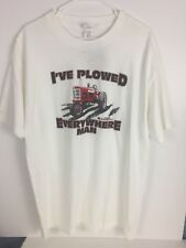 International Harvester Cotton Short Sleeve Tee Shirt Size Large New with Tags