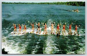 Clermont FL~Water Ski Club~11 Bathing Beauties~JayCee Beach~Lake Minneola~1956