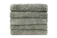 "12Pcs  Microfiber Towel Edgeless Lint Scratch Free Cleaning 16""x16"" Grey"