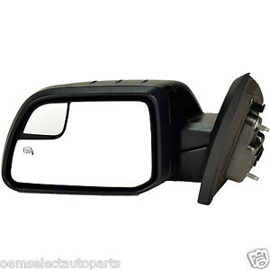 OEM NEW 2011-2015 Ford Edge MKX Left Rear View Mirror- Heated, Memory, Puddle