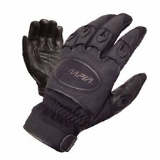 Olympia 755 Womens Ventor Black Leather Palm Gloves Large Ladies NEW