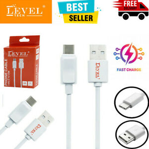 Universal Type C USB-C Fast Phone Charging Charger USB Data Cable Lead Samsung