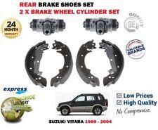 FOR SUZUKI VITARA 1989-2004 NEW REAR BRAKE SHOES SET + 2X WHEEL CYLINDER KIT