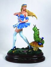 CS MOORE ZENESCOPE GRIMM FAIRY TALES ALICE IN WONDERLAND STATUE #24 NIB SOLD OUT