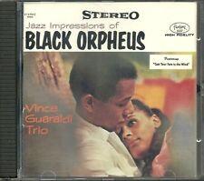 Guaraldi Trio, vince Jazz Impressions of Black Orpheus DCC ORO CD No Slip Case