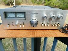 Kenwood Ka-9100 Dc Stereo Integrated Amplifier Nice!