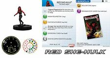 RED SHE-HULK #006 Fear Itself Month 1 Marvel Heroclix Common