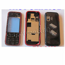 Black/Red Cover Housing For Nokia 5730 XpressMusic UK
