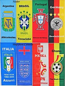 """Large High Quality Country FIFA Style Banner 2'X4' -Indoor/Outdoor- 24""""X48"""""""