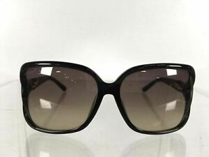 Gucci GG3685 Optyl Made In Italy Black Women's Gradient Oversized Sunglasses