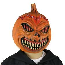 Costume Pumpkin Evil Mask Halloween Creepy Head Mask Latex kids & adults Party