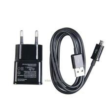 Wall 2Pin EU Plug Charger With USB Cable 2A  For Samsung Galaxy Note 2 S3 S4