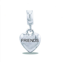 - Buy 2 or More, Save 10% DaVinci Beads Friends Heart Dangle Charm Db13-5