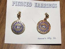 Vintage Ford Assembly Plant Lorain, OH Employee Involvement Earrings - Ohio #1