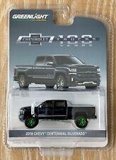 Greenlight Chevrolet Trucks 100th 2018 Chevy Centennial Silverado Green Machine
