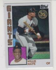 Topps 2019 Update 1984 #84-31 Willie Mays San Francisco Giants 35th Anniversary