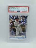 Fernando Tatis Jr 2019 Topps Update Rookie RC #US56 PSA 10 Gem Mint Padres MLB