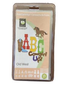 Old West Cricut Cartridge NEW