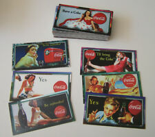 Coca-Cola Sign Of Good Taste (1996) Set de 72 cartes Vintage PinUp Pub
