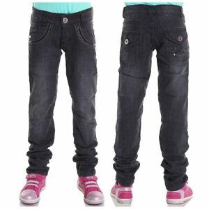 Jeans Hose Mädchen Kinder Jeanshosen Strech Dehnbund Hosen B2109 Angebot SALE