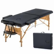 Folding Massage Table 84'' Professional Massage Bed 2 Fold Lash Bed Salon Bed