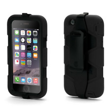 GRIFFIN SURVIVOR ALL TERRAIN CASE COVER FOR APPLE IPHONE 6/6S - BLACK - GB38903