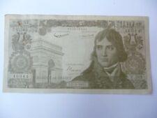 billet scolaire 100 nouveaux francs Bonaparte