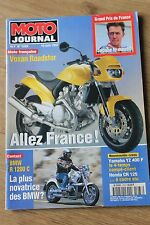 MOTO JOURNAL N°1283 BMW R 1200 C VOXAN ROADSTER 1000 GTS YAMAHA GP FRANCE '97
