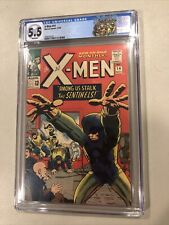 X-Men #14 CGC 5.5 WHITE PAGES 1st Appearance Of Sentinels Marvel Comics