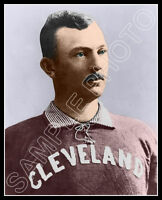 Cy Young Photo 8X10 - Cleveland Spiders COLORIZED - Buy Any 2 Get 1 Free
