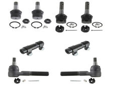4x4 FORD F-150 Pickup Upper Lower Ball Joints Tie Rods Sleeves Steering Kit New