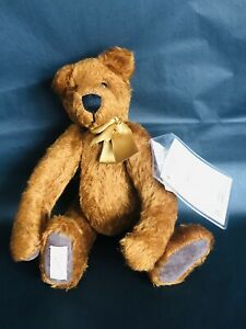 """Dean's Rag Book Co. Ltd, Collectors Club 1999 Mohair Bear """"Hobson"""" (BB)"""