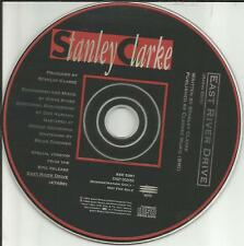 STANLEY CLARKE East River Drive w/ RARE RADIO EDIT PROMO CD Single 1993 USA MINT