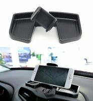 Black Interior Compatibility Mobile Phone Holder Mount Bracket 360 Degree Rotate