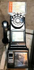 VINTAGE BELL DIAL PAY PHONE TELEPHONE WITH KEY T3309