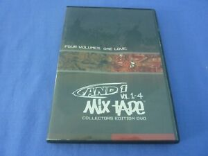 AND 1 Mix Tape Vol 1-4 Collectors Edition DVD R0 Free Tracked