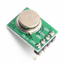 2 PCS Mini 433Mhz Wireless Transmitter ASK DC 3-12V DC 3V-12V TTL 500Meters