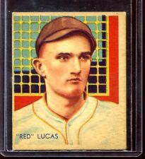 1935 Diamond Stars #46 Charles Red Lucs Cincinnati