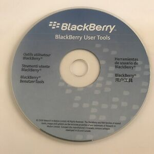Official BlackBerry User Tools Disc | CD-ROM | Phone Drivers | VGC
