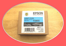 07-2012 NIB T5805 Genuine Epson Pro 3800 3880 Light Cyan Ink T580500