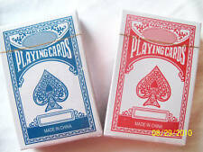 Coated Poker Rummey Game Playing Cards Set of 2